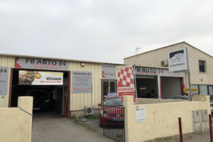 Photo du garage à FABREGUES : Garage FB Auto 34